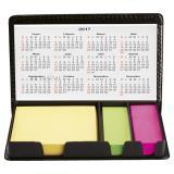 Estuche con porta notas - calendario