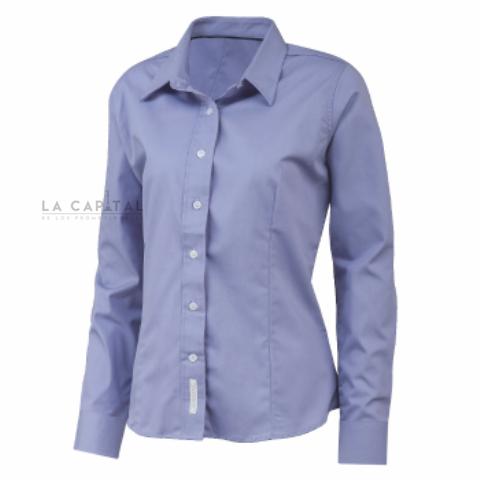 Camisa De Vestir Para Dama Camisa Dama Uniforme Textil