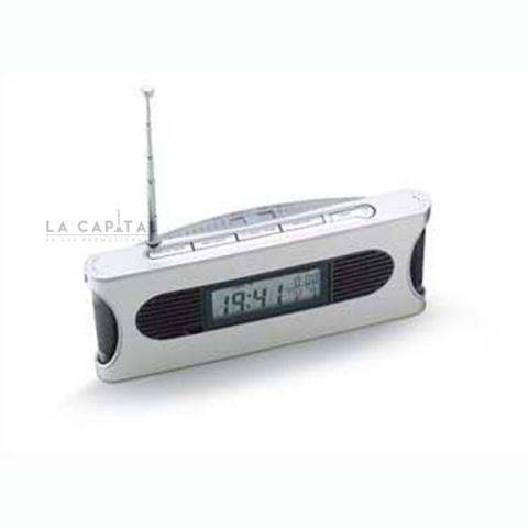 Radio con reloj (Stock)   Articulos Promocionales